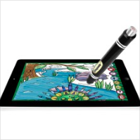 Crayola Color Studio makes drawing, coloring and creating interactive and digital. The app is free and the optional iMarker is sold in stores for $29.99.